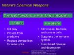 nature s chemical weapons