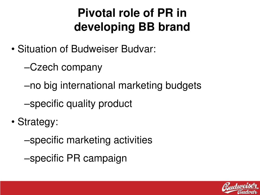 Pivotal role of PR in
