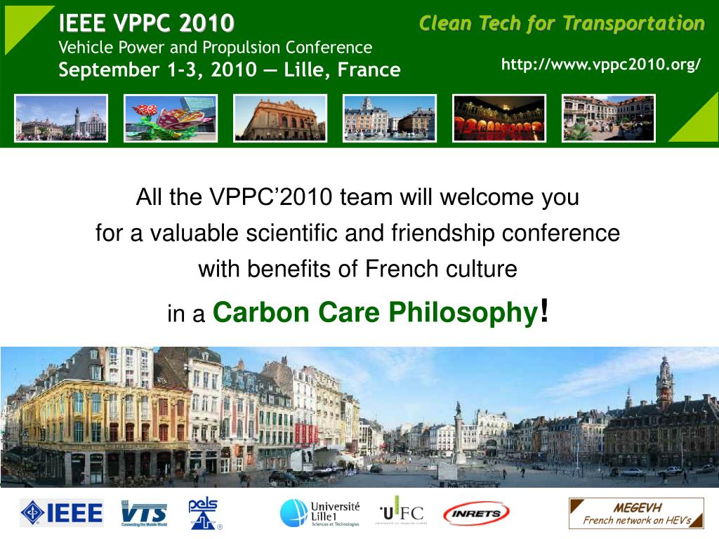 All the VPPC'2010 team will welcome you