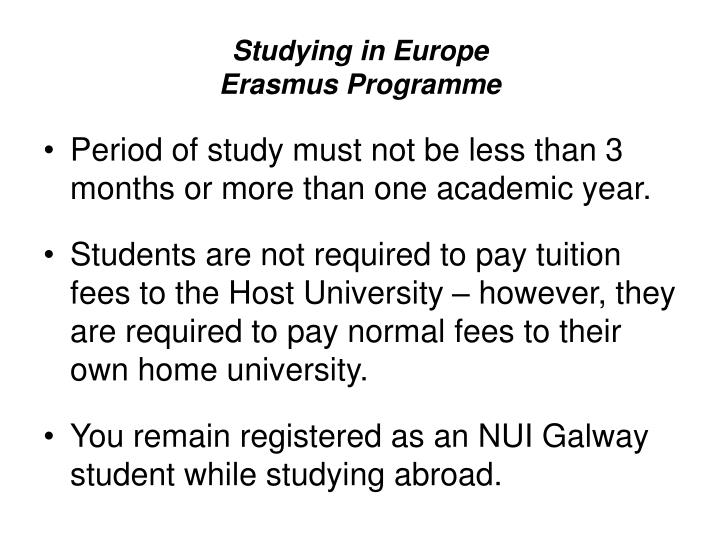 Studying in europe erasmus programme3