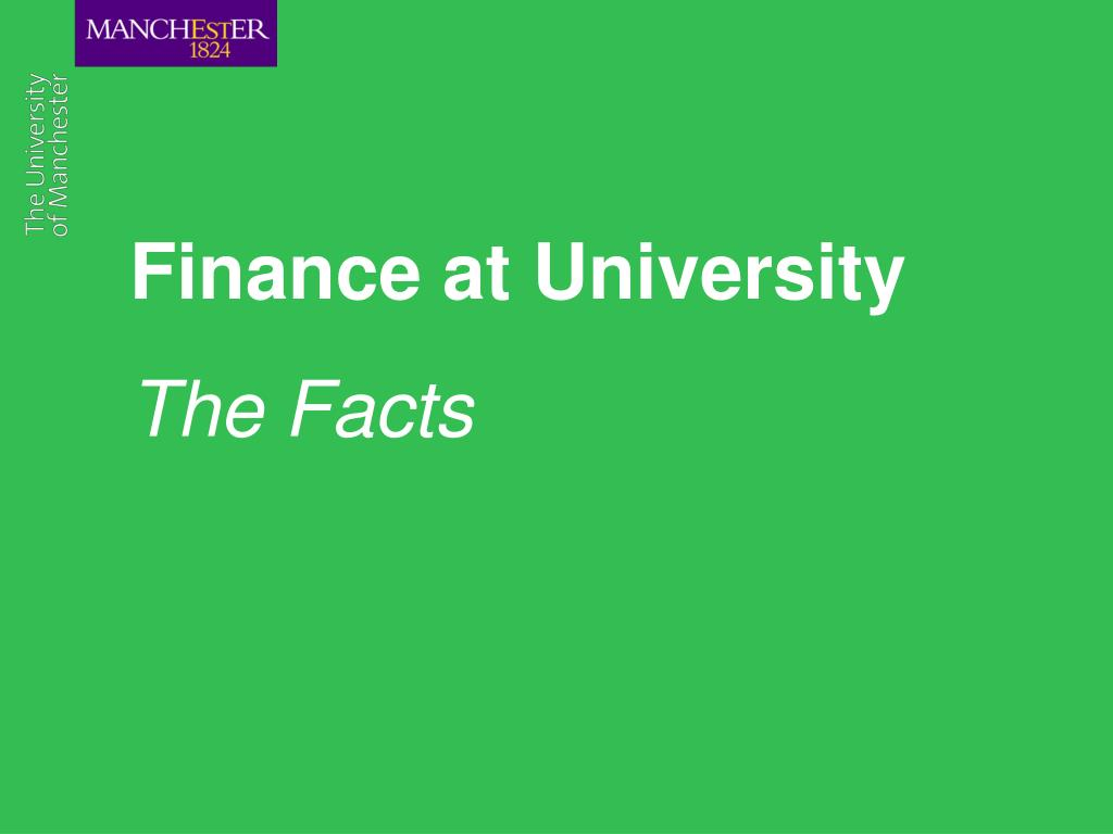finance at university l.