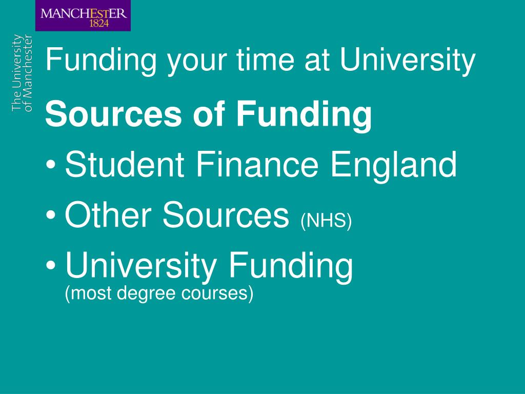 Funding your time at University