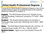 allied health professional degrees18
