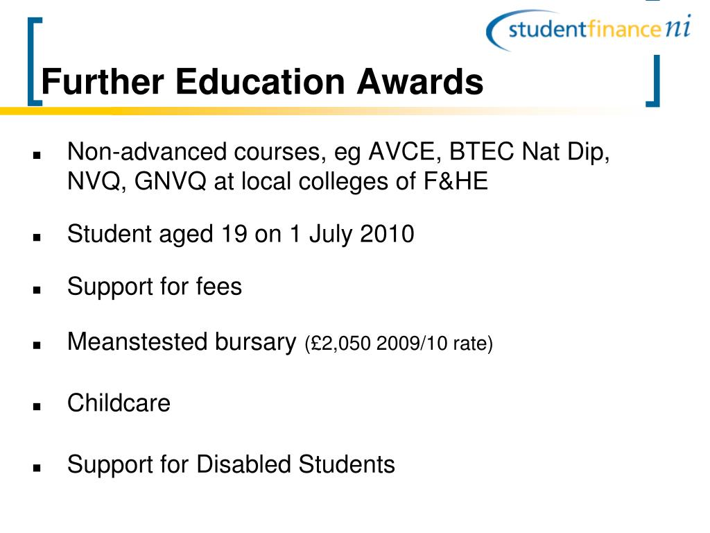 Further Education Awards