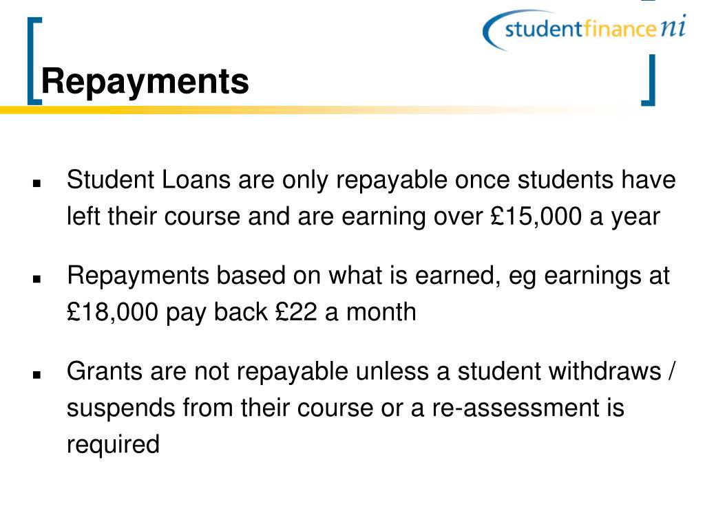 Repayments