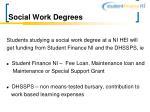 social work degrees