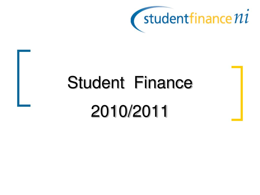 student finance 2010 2011 l.