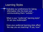 learning styles82
