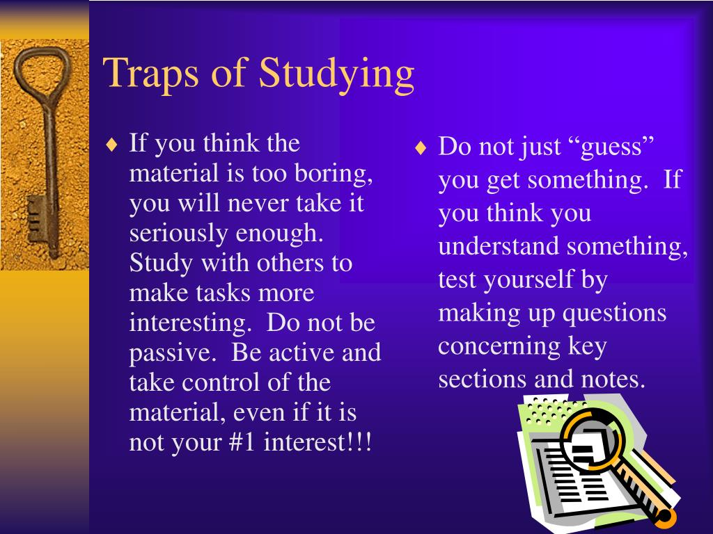 If you think the material is too boring, you will never take it seriously enough.  Study with others to make tasks more interesting.  Do not be passive.  Be active and take control of the material, even if it is not your #1 interest!!!