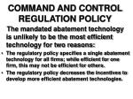 command and control regulation policy12