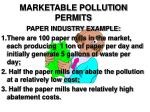 marketable pollution permits18