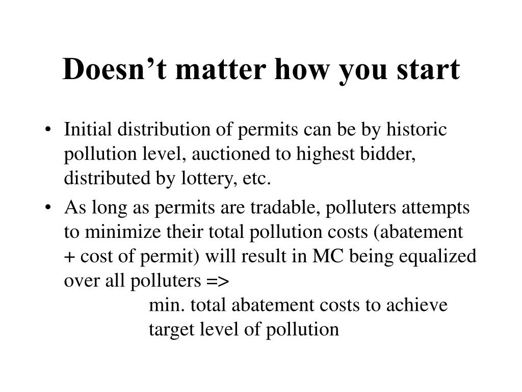 Doesn't matter how you start
