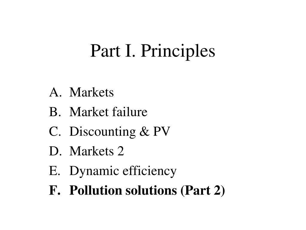 part i principles l.