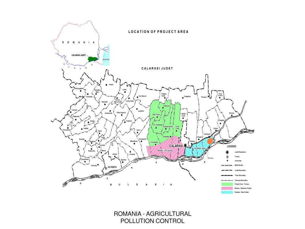 ROMANIA - AGRICULTURAL POLLUTION CONTROL
