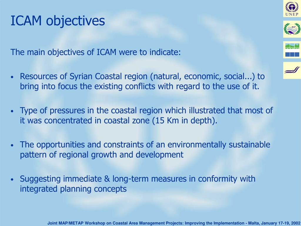 ICAM objectives