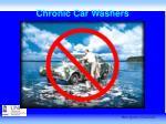 chronic car washers