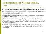 introduction of virtual office cont6