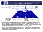 pa r a lifecycle approach