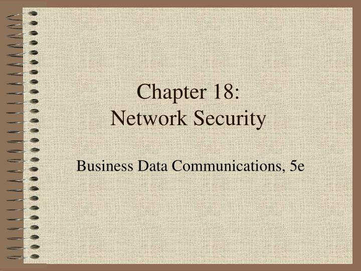 chapter 18 network security n.