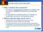 nahb fatality study 2003 2006
