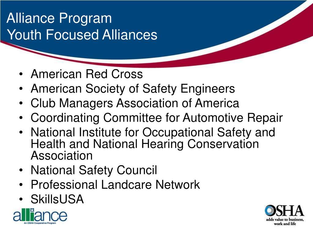 Alliance Program