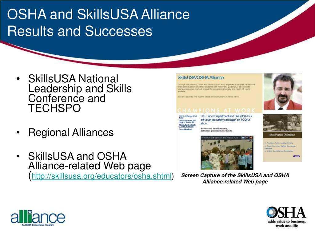 SkillsUSA National                                                     Leadership and Skills                                                 Conference and                                                         TECHSPO