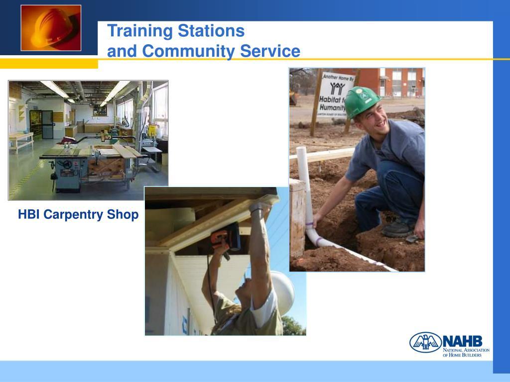 Training Stations