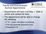 faculty and grad assistant summer appointments22