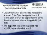 faculty and grad assistant summer appointments23