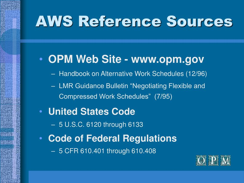 AWS Reference Sources