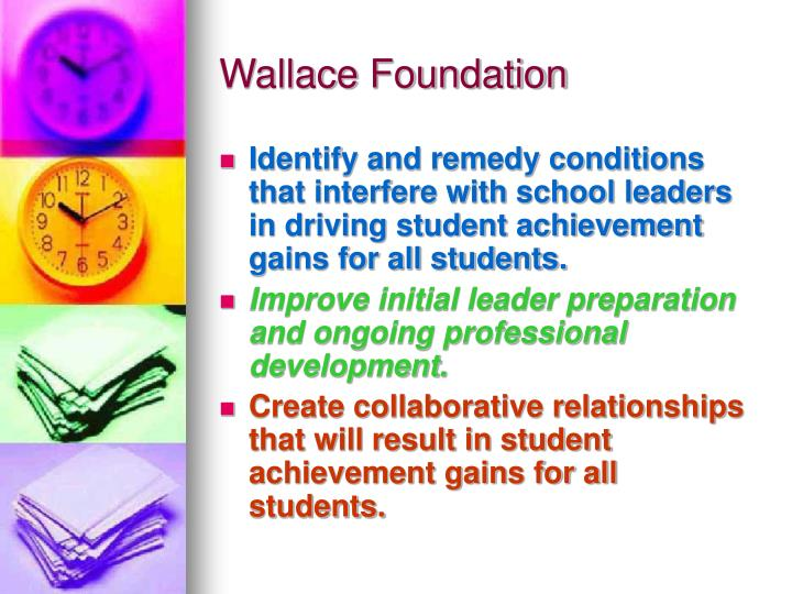 Wallace foundation