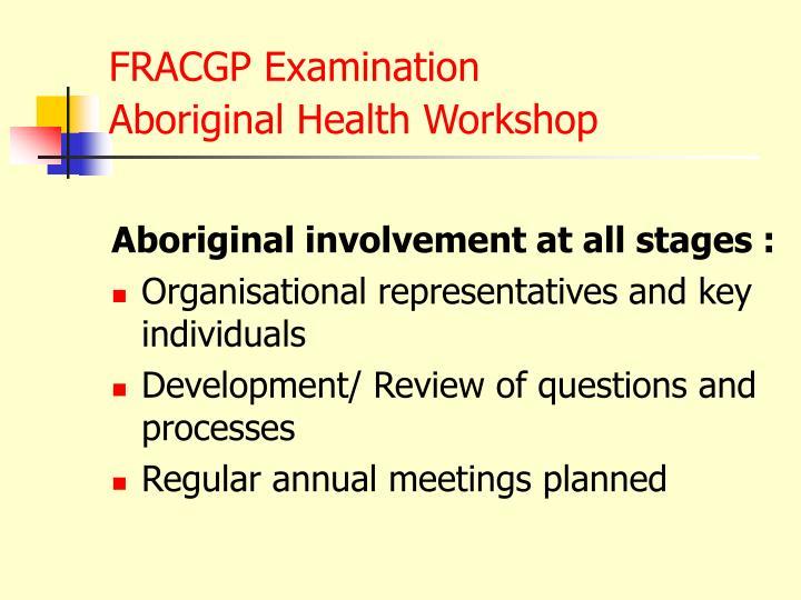 FRACGP Examination