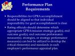 performance plan requirements3