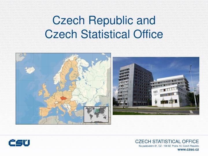 Czech republic and czech statistical office