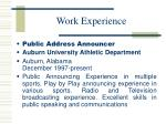 work experience4