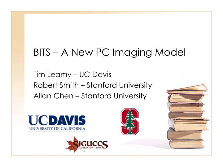 Bits a new pc imaging model