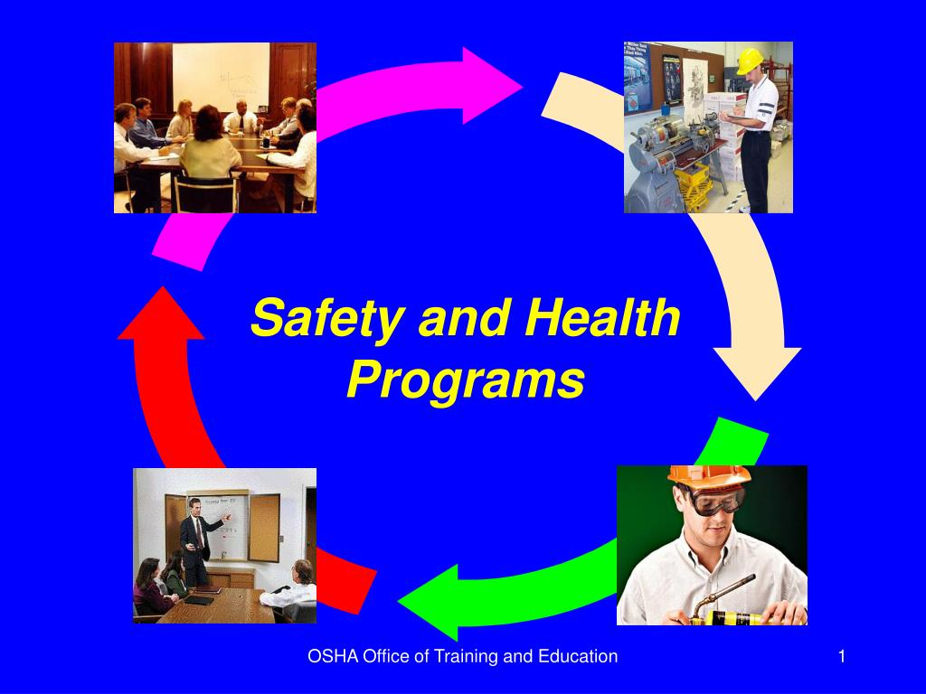 safety and health programs l.