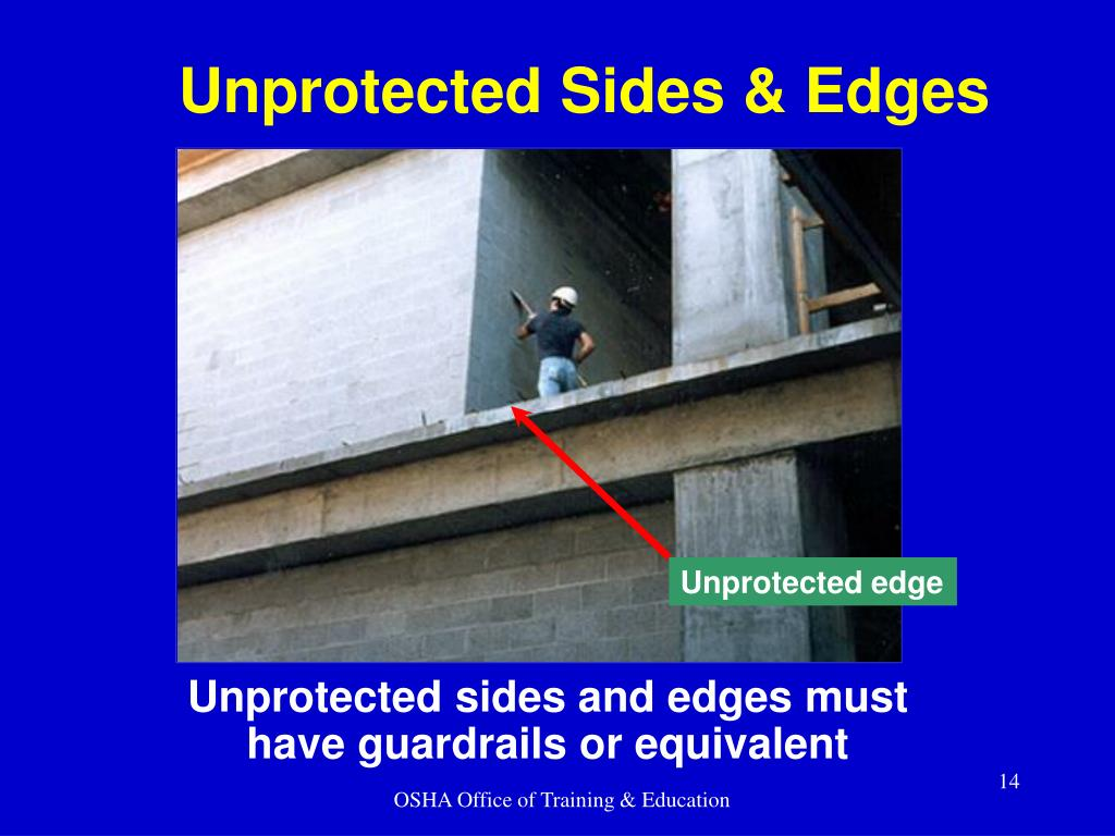 Unprotected Sides & Edges