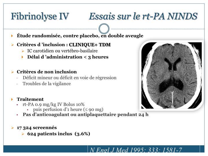 Fibrinolyse IV