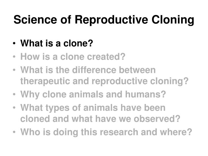 Science of reproductive cloning3