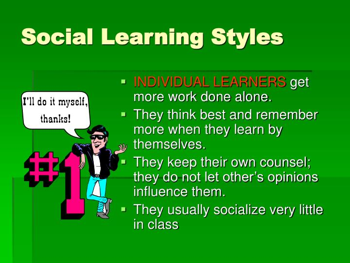 Social Learning Styles