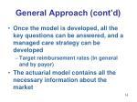 general approach cont d16