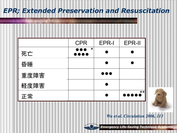EPR; Extended Preservation and Resuscitation