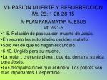vi pasion muerte y resurreccion mt 26 1 28 28 15