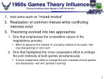 1960s games theory influence thomas schelling anatol rapoport fred charles ikle