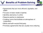 benefits of problem solving