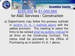 250 000 to 1 000 000 for a e services construction