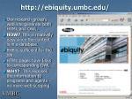 http ebiquity umbc edu