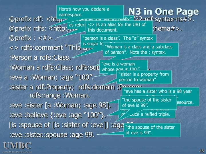 N3 in One Page