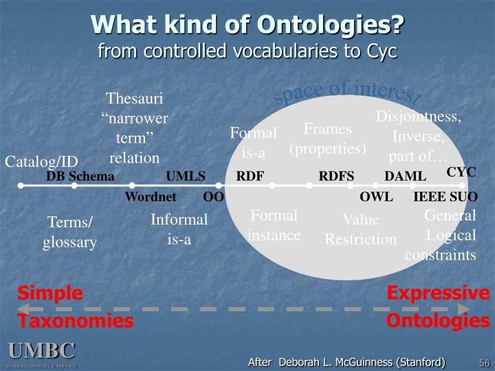 What kind of Ontologies?